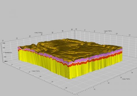 Numerisches Modell eines geklüfteten Mineralwassersystems